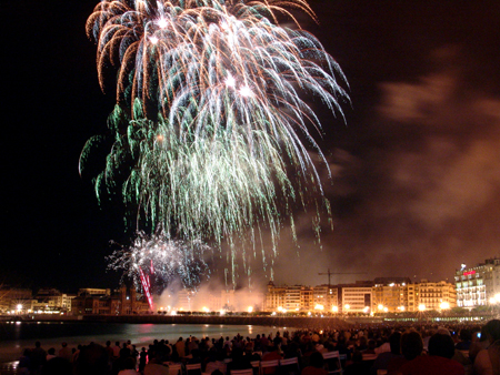 Semana Grande Fireworks