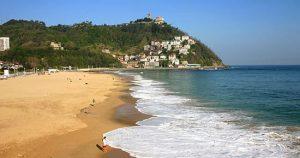 plage d' Ondarreta San Sebastian