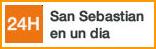 San Sebastian en un día