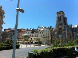 panorámica de biarritz