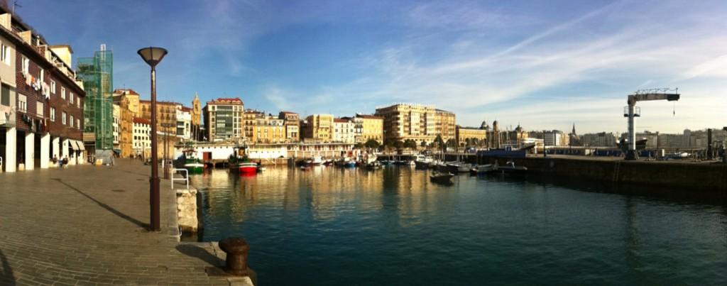Foto del puerto de San Sebastián