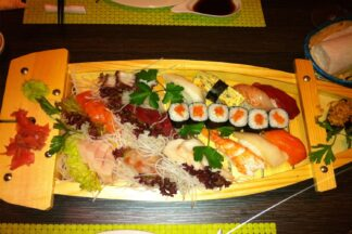 sushi variado tatami