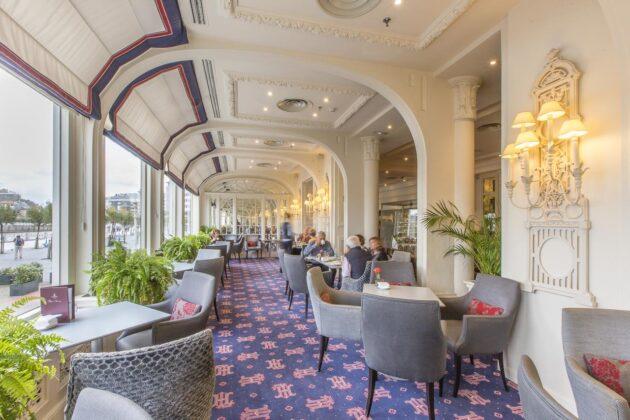 Cafetería hotel de londres