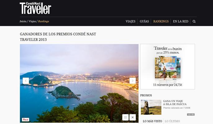 San Sebastian voted world's fifth best city