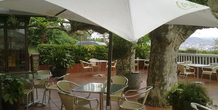 Terraza del restaurante Rekondo