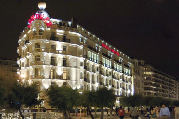 Reformas en el hotel Londres