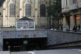 Parkings en el centro de San Sebastián