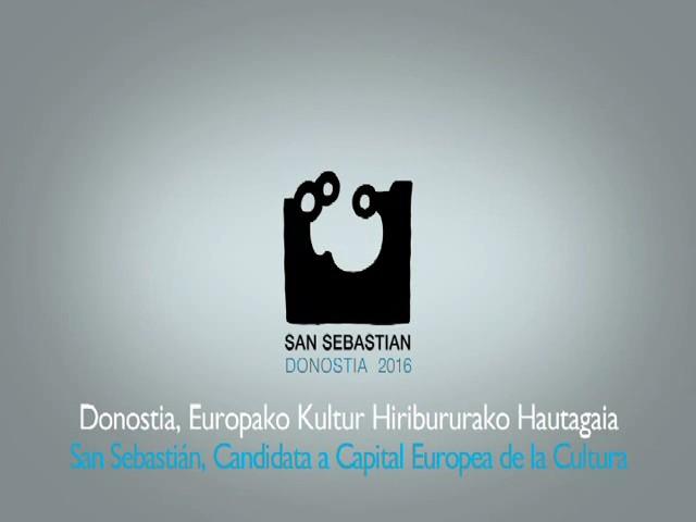 Designación oficial de Bruselas para la capitalidad europea de San Sebastián 2016