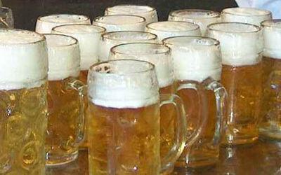 Fiesta de la cerveza en Sagües