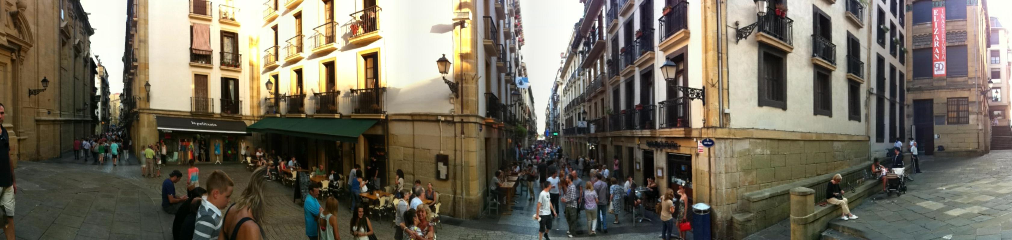 Fotos panorámicas de San Sebastián