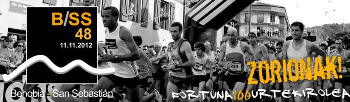 25.000 corredores en la Behobia-San Sebastián de este año