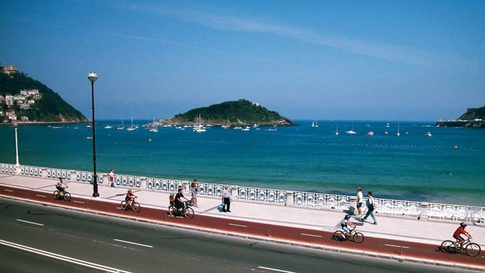 Bicicletas en Donosti – Aquiler – Carril Bici