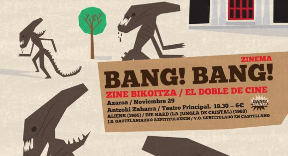 Bang Bang Zinema, nueva oferta de ocio cinematográfico