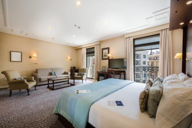 Habitacion doble hotel londres