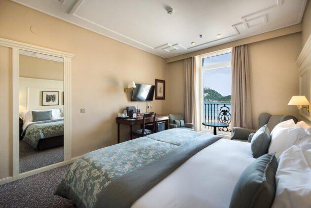 Habitación con vistas al mar hotel lonres